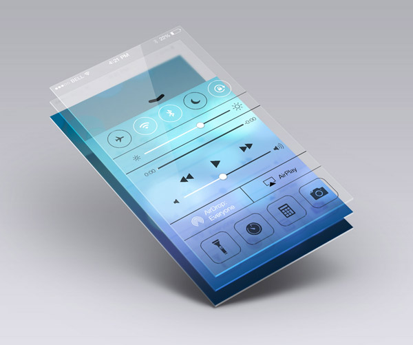 Perspective App Screen