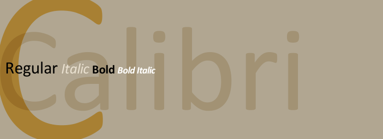 超赞!网页设计中最常见的30款英文字体