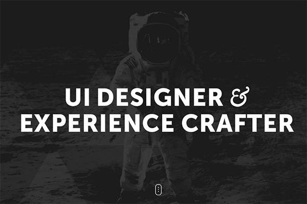 Cody Sielawa in 50 Dark Web Designs for Inspiration
