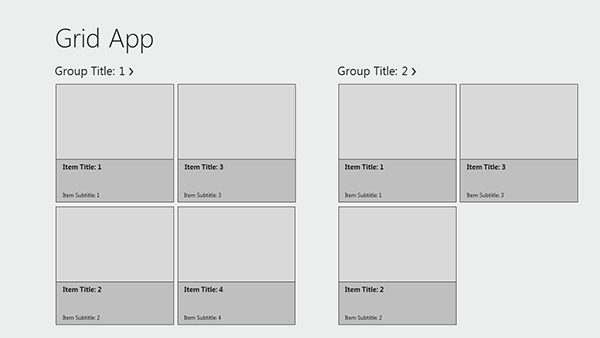 Free Windows 8 Wireframe Templates for PowerPoint in 50 Free Wireframe Kits and Web Apps