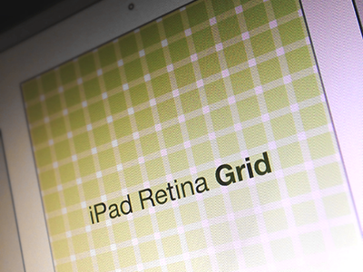 Ipad Retina Grid by Bryan Leung in 50 Free Wireframe Kits and Web Apps