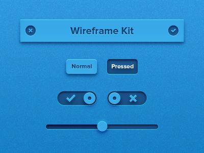 Tiny Wireframe Kit by Alexander Zaytsev in 50 Free Wireframe Kits and Web Apps