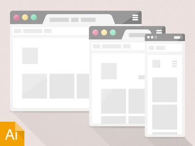 42 Fresh Dribbble Freebies for Web Designers