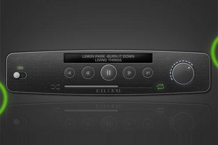 优设网精品!50+精美的播放器PSD免费下载