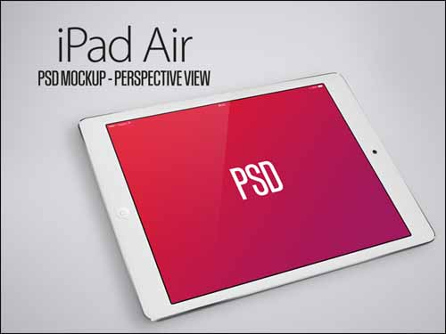 iPad-Air-PSD-Mockup-Perspective-View-Black-White
