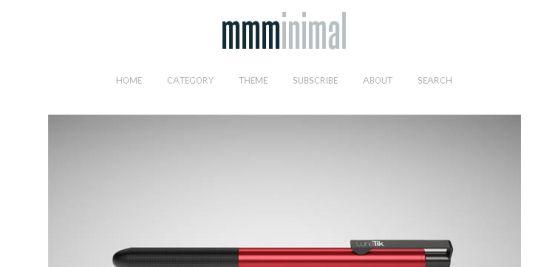 Minimal Navigation Bar