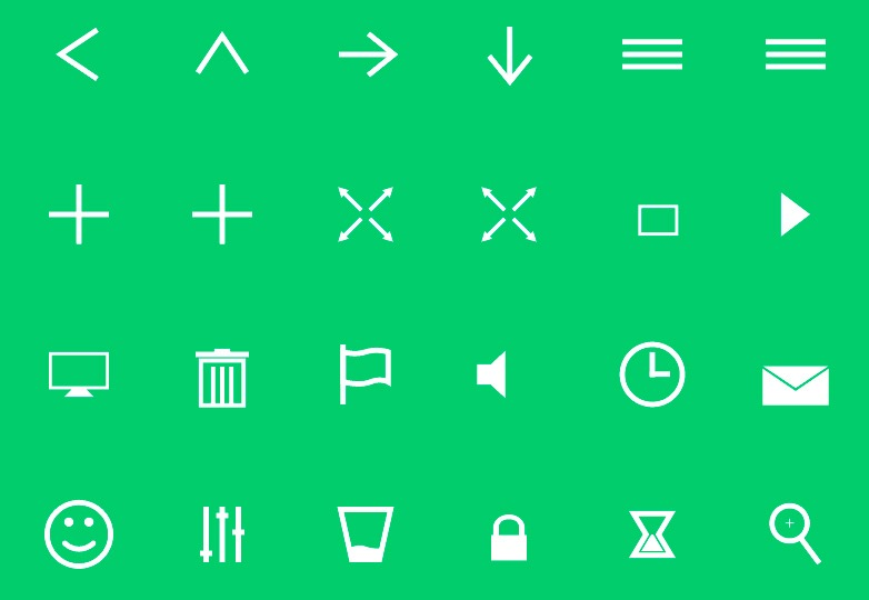 Animated SVG icons