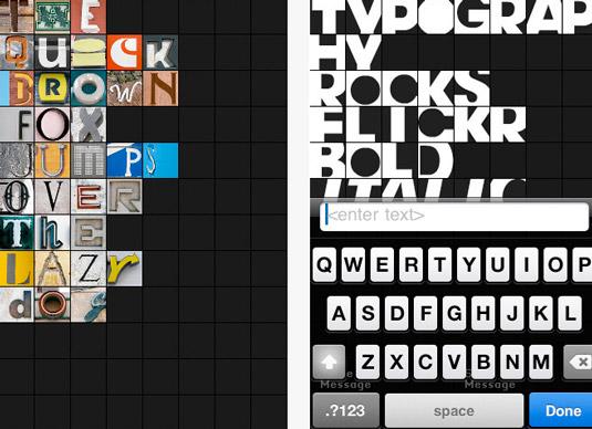 Typography apps
