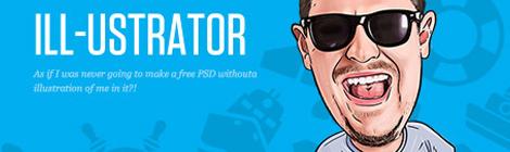 超赞!30款免费精致网站模板PSD下载 - 优设网 - UISDC