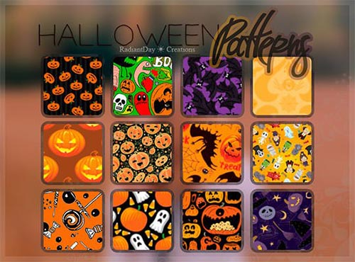 halloweewnpatternn