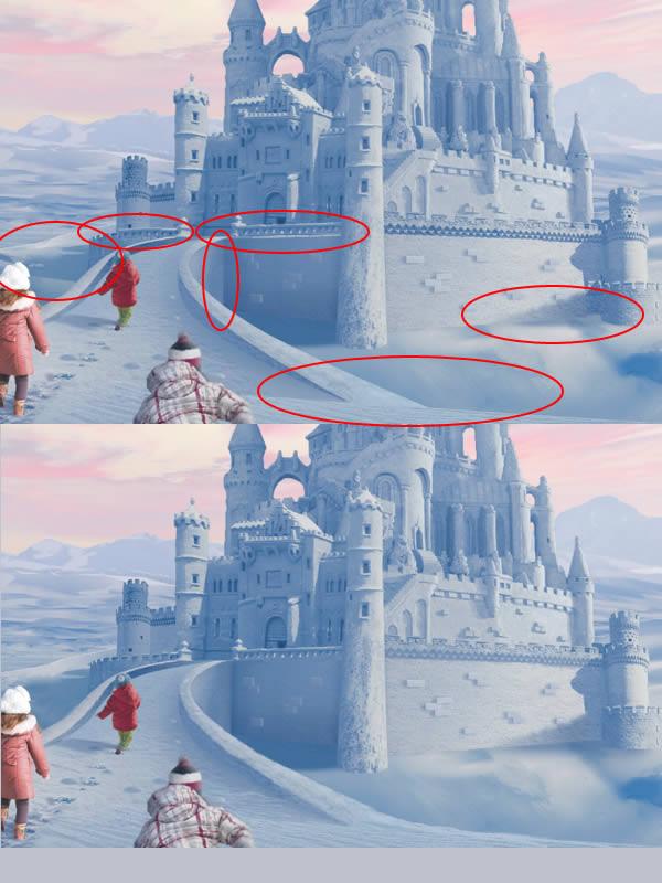 合成神技!教你用PS制作迪士尼雪景图