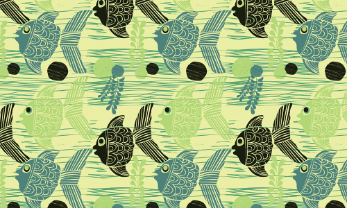 Cute free fish patterns