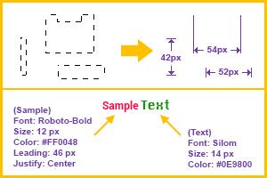 Pixel Measure & Font Display Tool