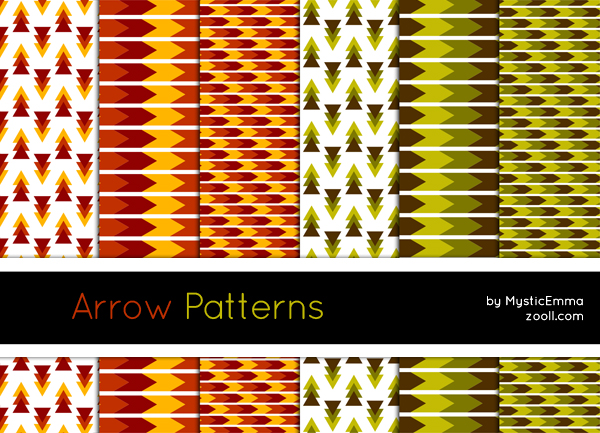 Arrow Patterns by Zooll.com in 30+ New Photoshop Pattern Sets