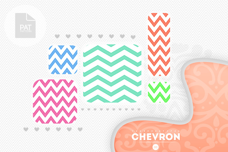 Chevron Patterns by Thearchetypes in 30+ New Photoshop Pattern Sets
