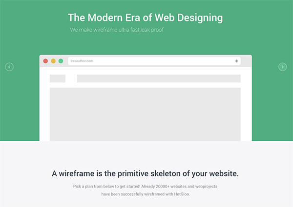 Flat Mate in 30 Fresh and Free PSD Website Templates