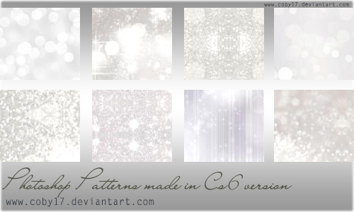 Light Glitters Patterns by Coby17 in 30+ New Photoshop Pattern Sets
