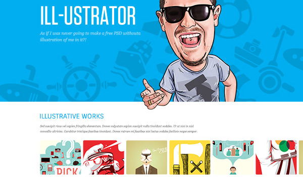 LineCase in 30 Fresh and Free PSD Website Templates