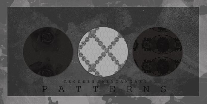 PATTERNS/BW by Yeonseb in 30+ New Photoshop Pattern Sets