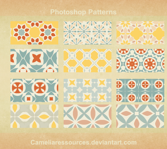 Photoshop pattern v1 by cameliaRessources in 30+ New Photoshop Pattern Sets