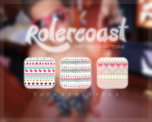 Rollercoast photoshop patterns by Thearchetypes in 30+ New Photoshop Pattern Sets