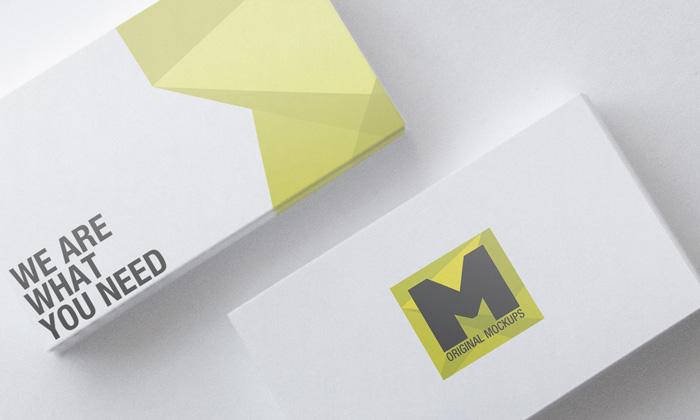 business-card-mockup-yellow