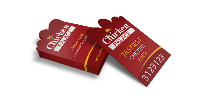 Chicken Palace Business Card