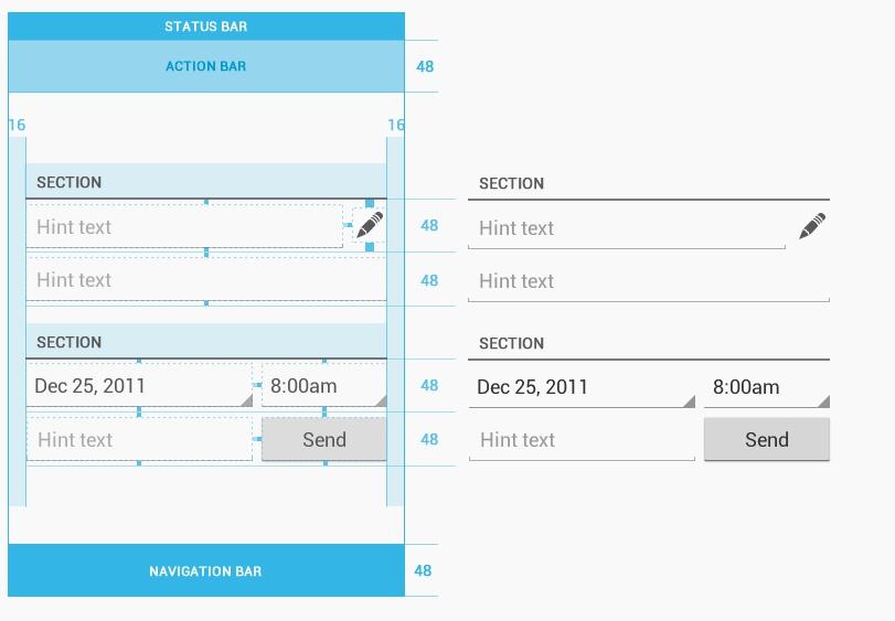 小白科普:UI设计中的48dp定律