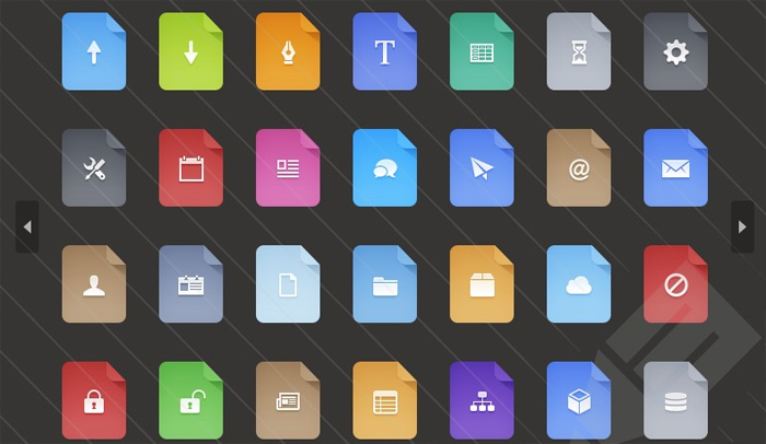 Flat Filetype Icons
