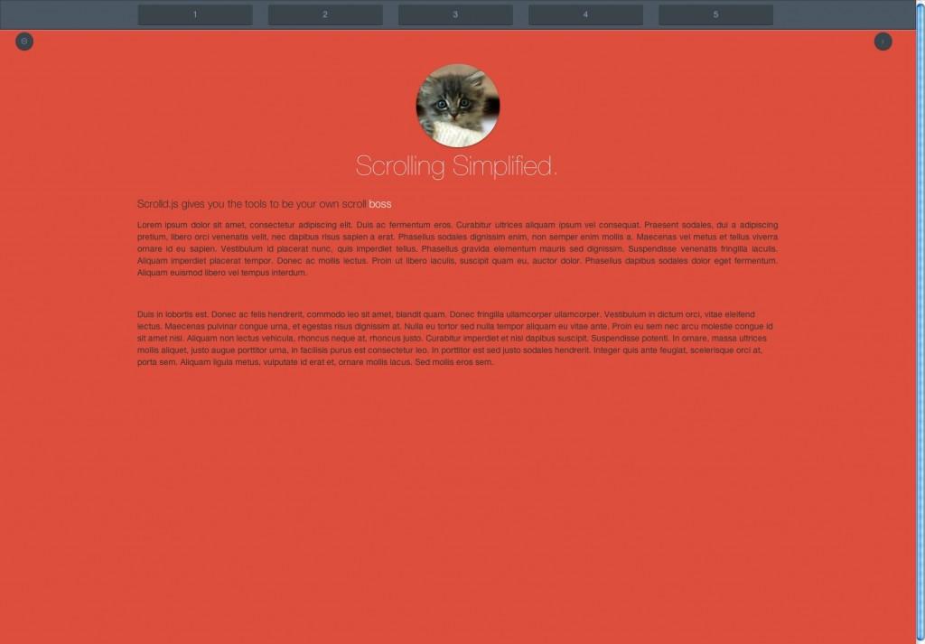 让网页舞动起来!25个免费的视差滚动插件