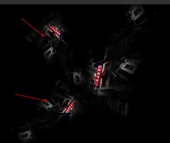 1 effect 2 550x463 Create Unleash the Dark Power Surreal Scene in Photoshop