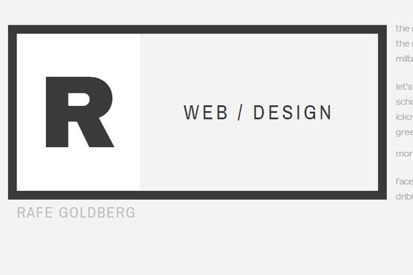 要给自己做站?先到这200个设计师网站汲取灵感(下篇)