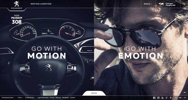 高端大气!20个豪华汽车、摩托车网页设计作品欣赏