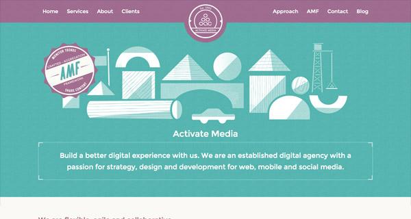敢于尝试!23个有着非同寻常配色的网页设计