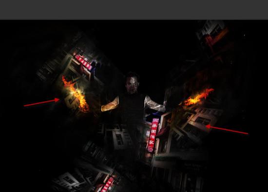 4 overlay 550x394 Create Unleash the Dark Power Surreal Scene in Photoshop