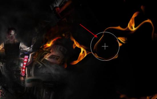 5 liq 550x347 Create Unleash the Dark Power Surreal Scene in Photoshop