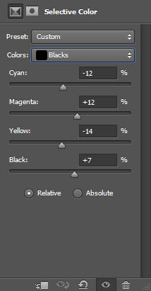 5 sel black 1 Create Unleash the Dark Power Surreal Scene in Photoshop
