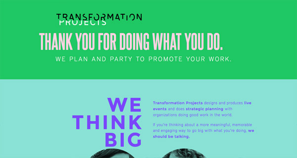 Transformation Projects