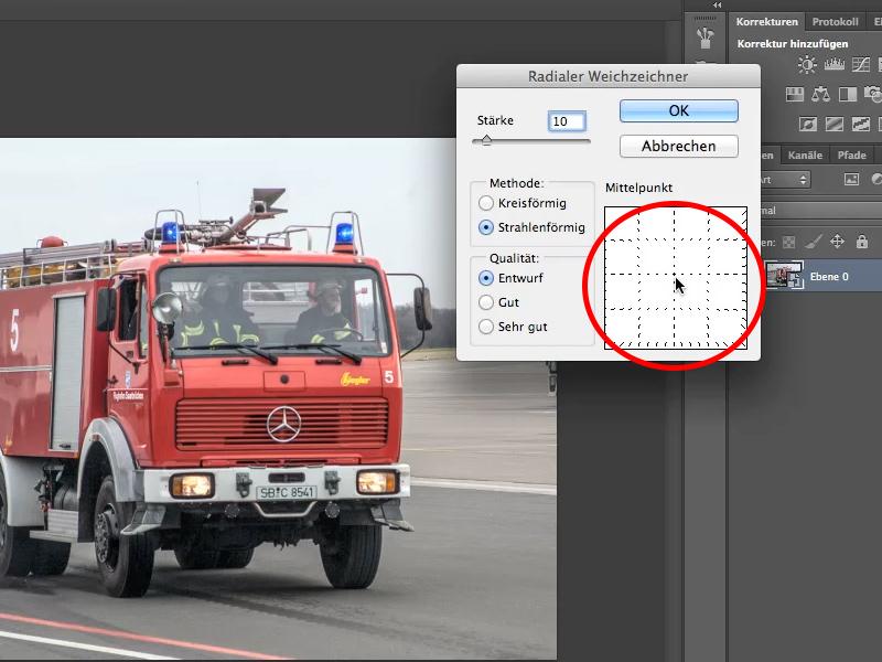 PS教程:教你用滤镜制作动态行驶的车车