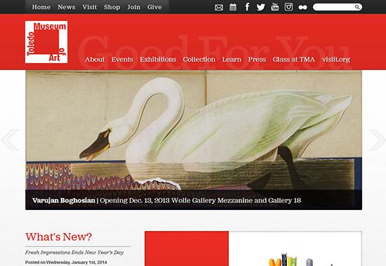 WordPress Museum Sites - Toledo Museum of Art