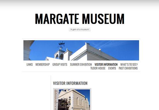 WordPress Museum Sites - Margate Museum