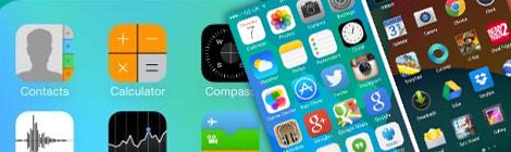 巨人之争!iOS7和Android4.4奇巧巧克力 - 优设网 - UISDC