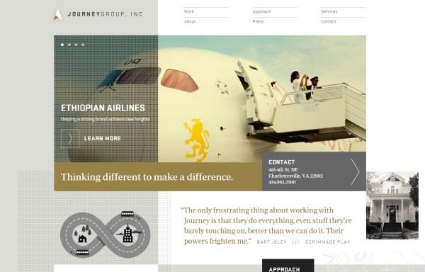 小伙伴们看过来!20个高大上的公司网站设计
