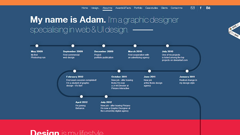 引领设计趋势!最新潮的24组获奖网页作品欣赏
