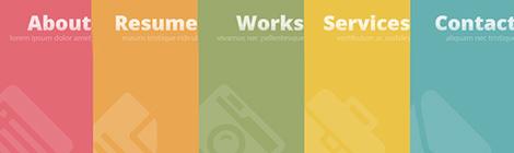 一大波福利来袭!26个免费HTML5模版 - 优设网 - UISDC