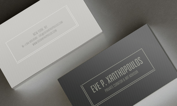 Business Card Proposal - Art Advisor by Aime Gomez Molina in Showcase of 50 Creative Business Cards