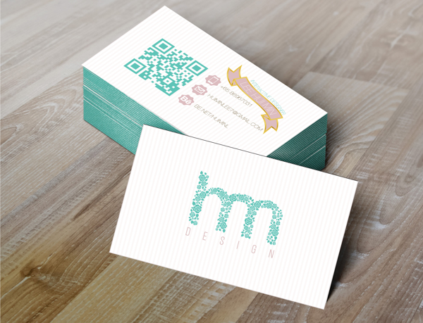 Business Card by Hui Min Lee in Showcase of 50 Creative Business Cards