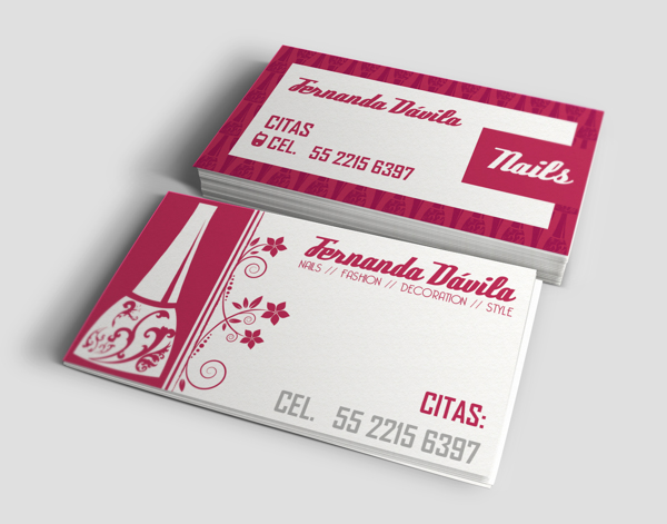 Business Card by Karen Lira in Showcase of 50 Creative Business Cards
