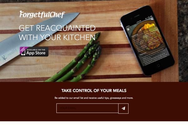 Forgetful Chef