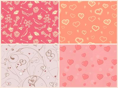 Free St Valentine's Day Patterns by Dart 117 in 16 Valentine's Day Design Freebies